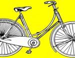 לחצו על דפי הצביעה של אופניים להגדלה ולהדפסה