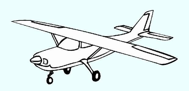 לחצו על דפי הצביעה של מטוסים להגדלה ולהדפסה