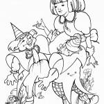 דף צביעה אליס וחברים
