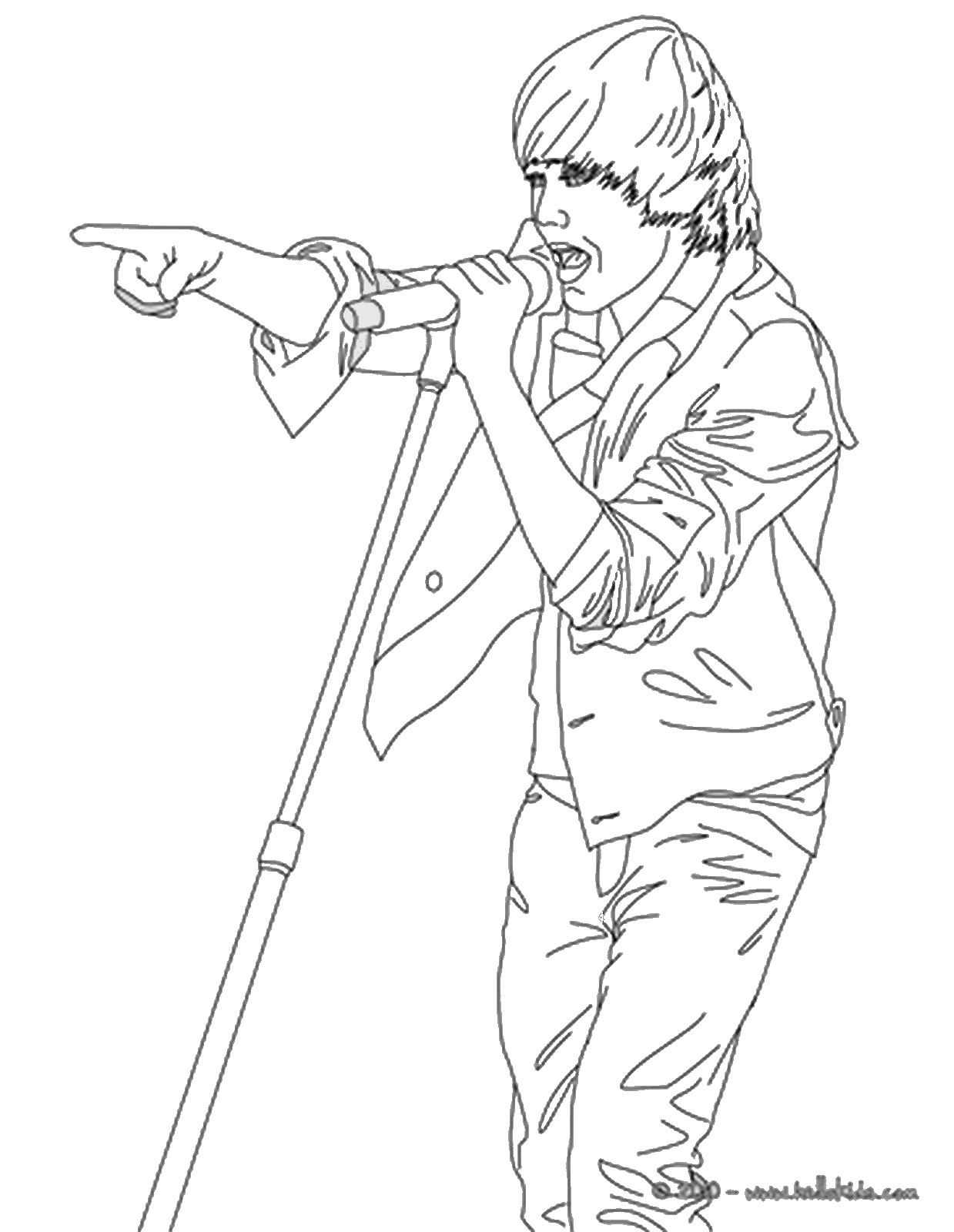 american idol coloring pages - photo#17