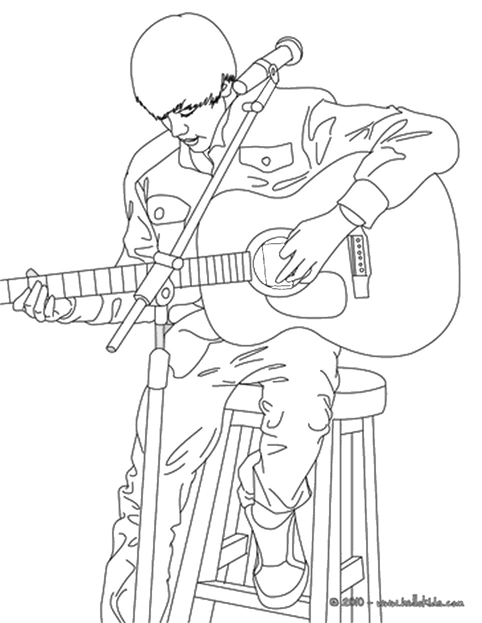 american idol coloring pages - photo#5