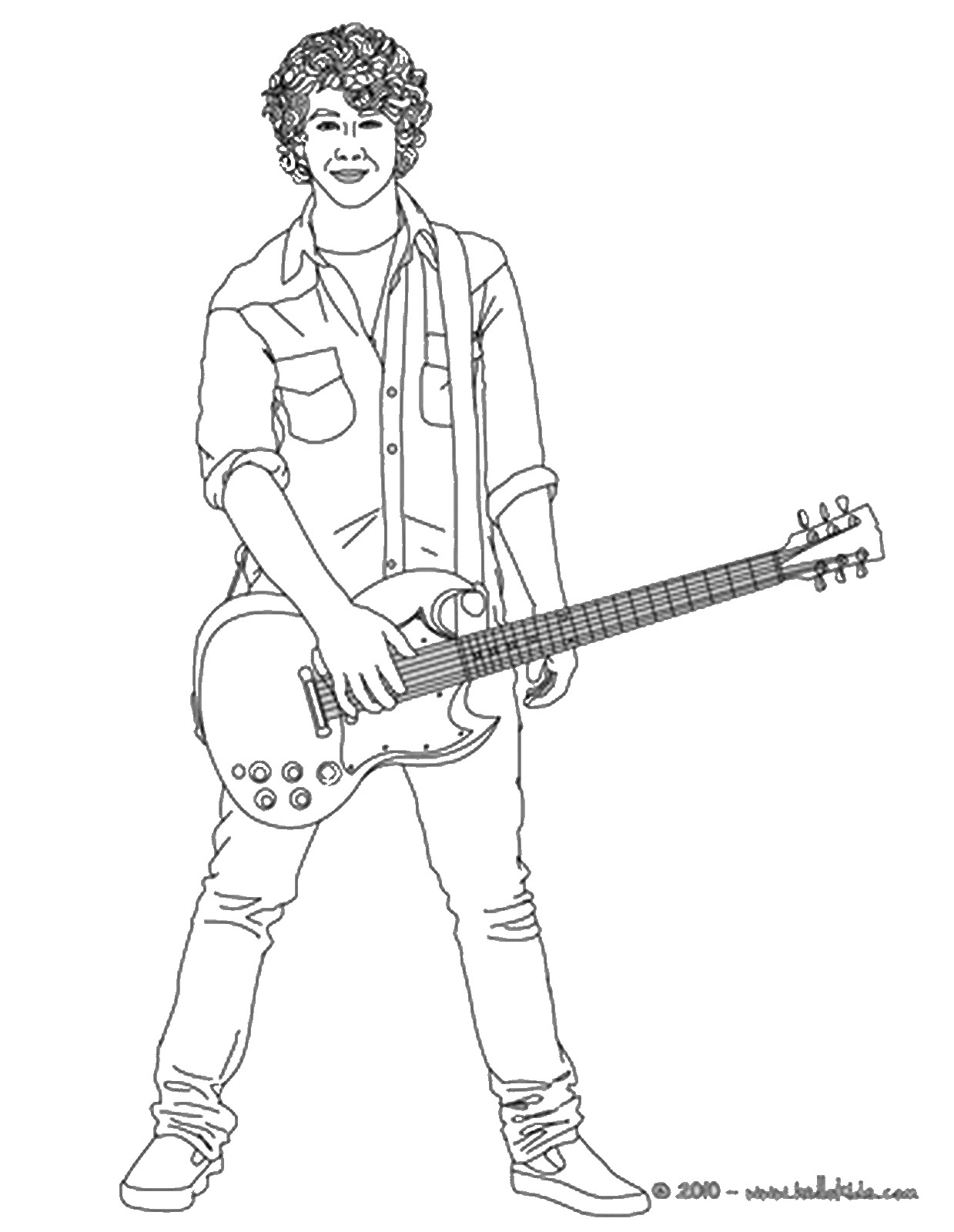 american idol coloring pages - photo#2