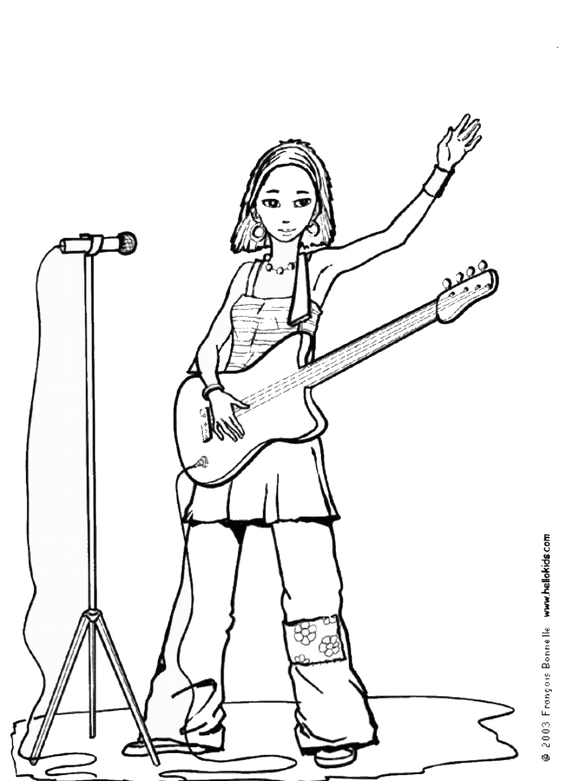 american idol coloring pages - photo#6