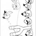 דף צביעה אנגרי בירדס 21