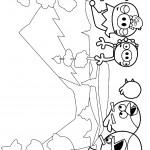 דף צביעה אנגרי בירדס 12