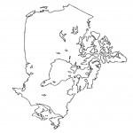 דף צביעה מפת קנדה