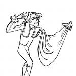 דף צביעה לוחם שוורים מספרד