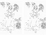 לחץ על דפי חיבור המספרים לתמונה להגדלה ולהדפסה  כנסו לדפי צביעה רקדנית