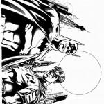 דף צביעה באטמן 34