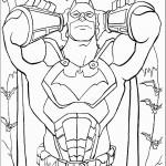 דף צביעה באטמן 28