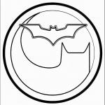 דף צביעה סמל באטמן