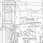 דף צביעה באטמן 20