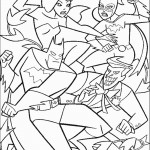 דף צביעה באטמן 19