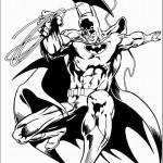 דף צביעה באטמן 9