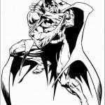 דף צביעה באטמן 8