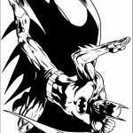 דף צביעה באטמן 6