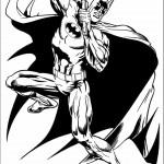 דף צביעה באטמן 5