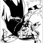 דף צביעה באטמן 4