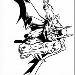 דף צביעה באטמן 3