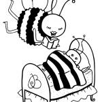 הדבורה מספרת סיפור לפני השינה