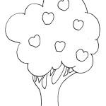 דף צביעה עץ הדעת בגן עדן