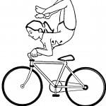 כיף לעשות תרגילים על אופניים