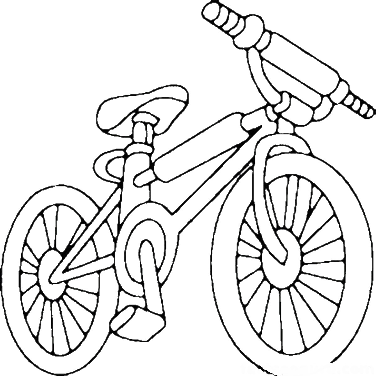 for Coloring pages bikes