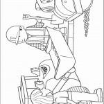 דף צביעה בוב הבנאי, וונדי, המכבש והדחפור