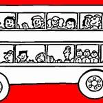 אוטובוס דפי צביעה