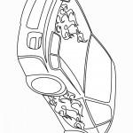 דף צביעה מכונית 40