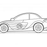 דף צביעה מכונית 33