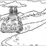 דף צביעה מכונית 28