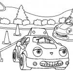 דף צביעה מכונית 25