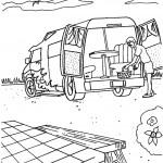 דף צביעה מכונית 12