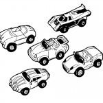 דף צביעה מכונית 9