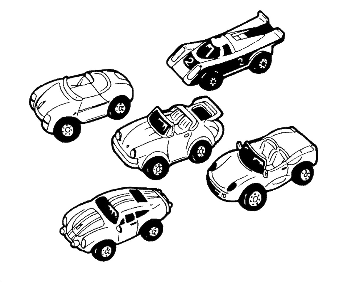 Coloring Pages Of Toy Car : האתר הגדול בישראל לדפי צביעה להדפסה ואונליין באיכות מעולה
