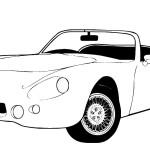 דף צביעה מכונית 4