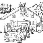דף צביעה מכונית 3