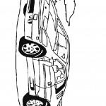 דף צביעה מכונית 2