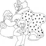 ליצן משתעשע עם ילדים