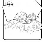 דף צביעה דורה, בוטס ובני במכונית