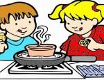 לחצו על דפי הצביעה בנושא מזון, אפייה ובישול להגדלה ולהדפסה