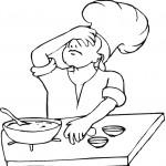 דף צביעה טבח שהתבלבל