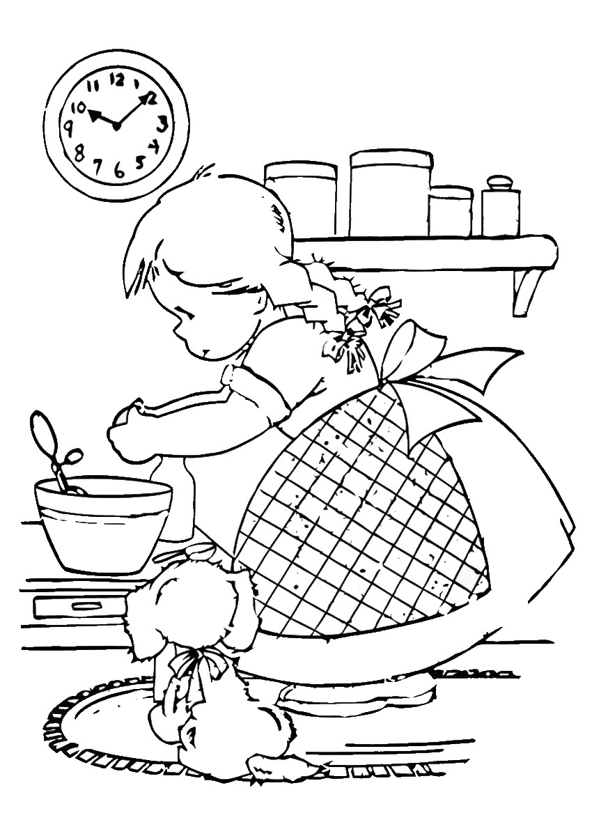 baking coloring pages - page baking powder coloring pages