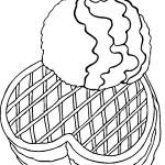 דף צביעה חביתיות עם קצפת