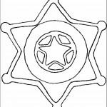 דף צביעה סמל השריף