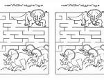 לחץ על דפי המבוכים להגדלה ולהדפסה  כנסו לדפי צביעה דינוזאור  כנסו לסרטון בארני הדינוזאור  כנסו לדפי צביעה בארני