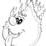 דף צביעה מכבי אש 18