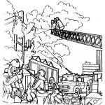 דף צביעה מכבי אש 16