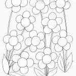 דף צביעה פרחים 48